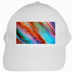Cool Design White Cap by BangZart