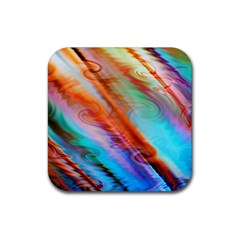 Cool Design Rubber Coaster (square)  by BangZart