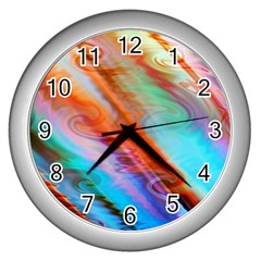 Cool Design Wall Clocks (silver)  by BangZart