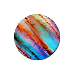 Cool Design Rubber Coaster (round)  by BangZart
