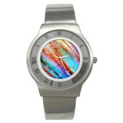 Cool Design Stainless Steel Watch by BangZart