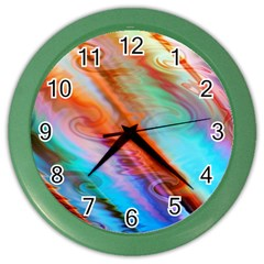 Cool Design Color Wall Clocks by BangZart