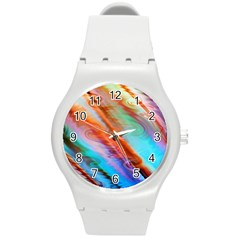 Cool Design Round Plastic Sport Watch (m) by BangZart