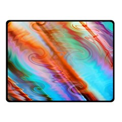 Cool Design Double Sided Fleece Blanket (small)  by BangZart