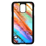Cool Design Samsung Galaxy S5 Case (Black) Front