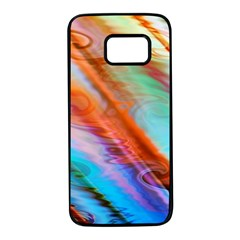 Cool Design Samsung Galaxy S7 Black Seamless Case