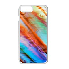 Cool Design Apple Iphone 7 Plus White Seamless Case by BangZart