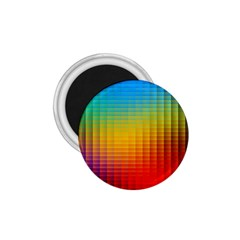 Blurred Color Pixels 1 75  Magnets by BangZart