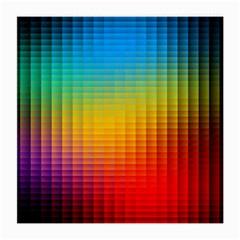 Blurred Color Pixels Medium Glasses Cloth (2 Side) by BangZart