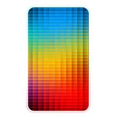 Blurred Color Pixels Memory Card Reader