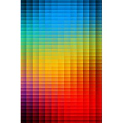 Blurred Color Pixels 5 5  X 8 5  Notebooks