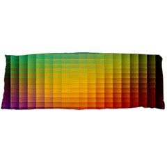 Blurred Color Pixels Body Pillow Case (dakimakura) by BangZart