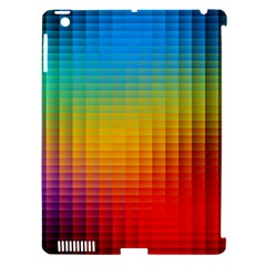 Blurred Color Pixels Apple Ipad 3/4 Hardshell Case (compatible With Smart Cover)