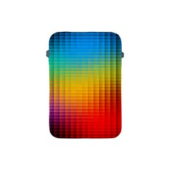 Blurred Color Pixels Apple Ipad Mini Protective Soft Cases by BangZart