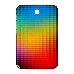Blurred Color Pixels Samsung Galaxy Note 8 0 N5100 Hardshell Case