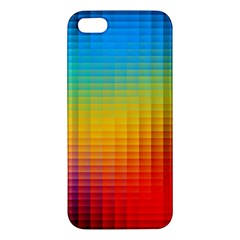 Blurred Color Pixels Iphone 5s/ Se Premium Hardshell Case by BangZart