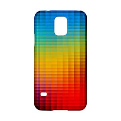 Blurred Color Pixels Samsung Galaxy S5 Hardshell Case  by BangZart