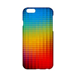 Blurred Color Pixels Apple Iphone 6/6s Hardshell Case by BangZart