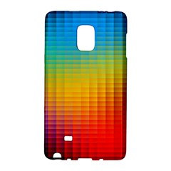 Blurred Color Pixels Galaxy Note Edge by BangZart