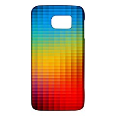 Blurred Color Pixels Galaxy S6