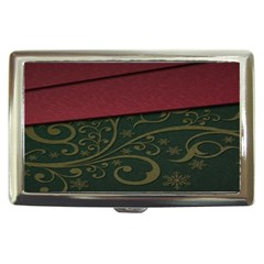 Beautiful Floral Textured Cigarette Money Cases by BangZart