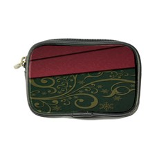 Beautiful Floral Textured Coin Purse by BangZart