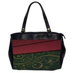Beautiful Floral Textured Office Handbags (2 Sides)