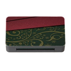 Beautiful Floral Textured Memory Card Reader With Cf by BangZart