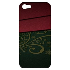 Beautiful Floral Textured Apple Iphone 5 Hardshell Case