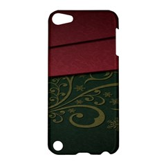 Beautiful Floral Textured Apple Ipod Touch 5 Hardshell Case