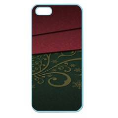 Beautiful Floral Textured Apple Seamless Iphone 5 Case (color)