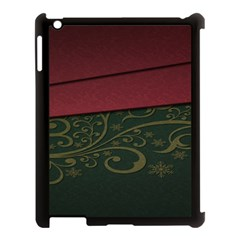 Beautiful Floral Textured Apple Ipad 3/4 Case (black) by BangZart