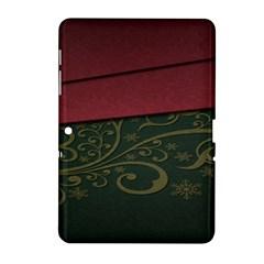 Beautiful Floral Textured Samsung Galaxy Tab 2 (10 1 ) P5100 Hardshell Case