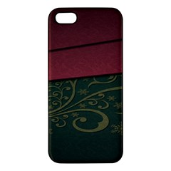 Beautiful Floral Textured Iphone 5s/ Se Premium Hardshell Case by BangZart