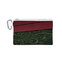 Beautiful Floral Textured Canvas Cosmetic Bag (s) by BangZart