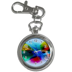 Abstract Color Plants Key Chain Watches by BangZart