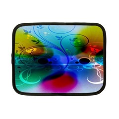 Abstract Color Plants Netbook Case (small)  by BangZart