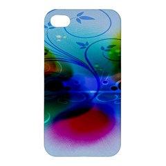 Abstract Color Plants Apple Iphone 4/4s Premium Hardshell Case by BangZart