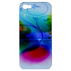 Abstract Color Plants Apple Iphone 5 Hardshell Case
