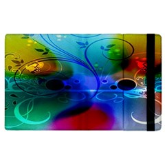 Abstract Color Plants Apple Ipad 3/4 Flip Case by BangZart