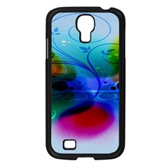 Abstract Color Plants Samsung Galaxy S4 I9500/ I9505 Case (black) by BangZart