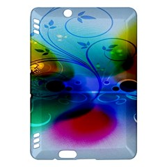 Abstract Color Plants Kindle Fire Hdx Hardshell Case by BangZart