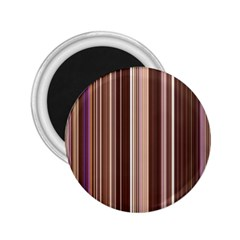 Brown Vertical Stripes 2 25  Magnets
