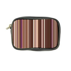 Brown Vertical Stripes Coin Purse by BangZart