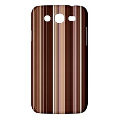Brown Vertical Stripes Samsung Galaxy Mega 5 8 I9152 Hardshell Case  by BangZart