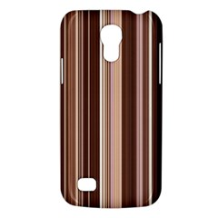 Brown Vertical Stripes Galaxy S4 Mini by BangZart