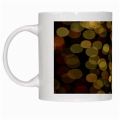 Blurry Sparks White Mugs by BangZart
