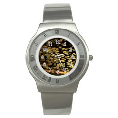 Blurry Sparks Stainless Steel Watch by BangZart