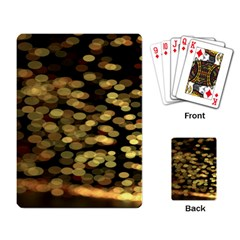 Blurry Sparks Playing Card by BangZart
