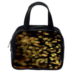 Blurry Sparks Classic Handbags (one Side)